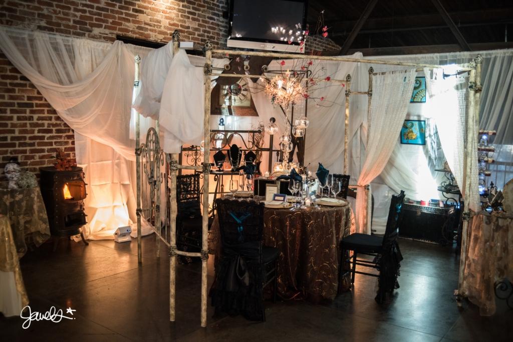 steampunk event decor