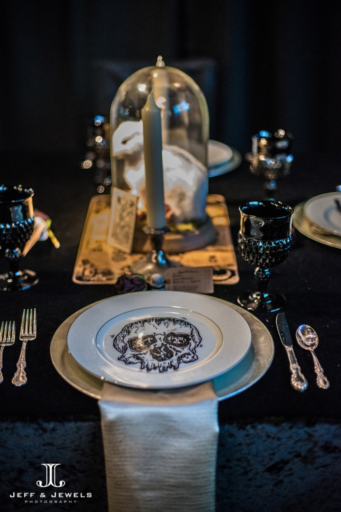 halloween wedding table decor denver wedding show