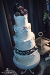 halloween wedding cake denver bridal show