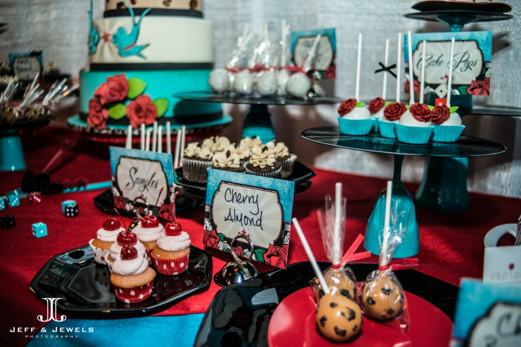 Rockabilly wedding desserts denver bridal show