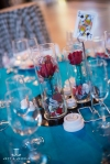 rock & roll wedding centerpiece denver wedding show
