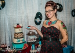 pin up wedding desserts and decor denver wedding showcase