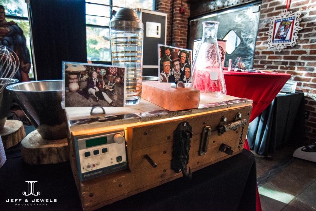 comic book super hero wedding catering ideas denver bridal show