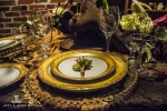 industrial elegance table scape decor denver wedding show