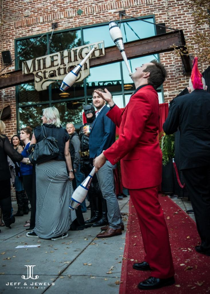 denver wedding show jugglers