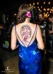 art deco body paint denver bridal show