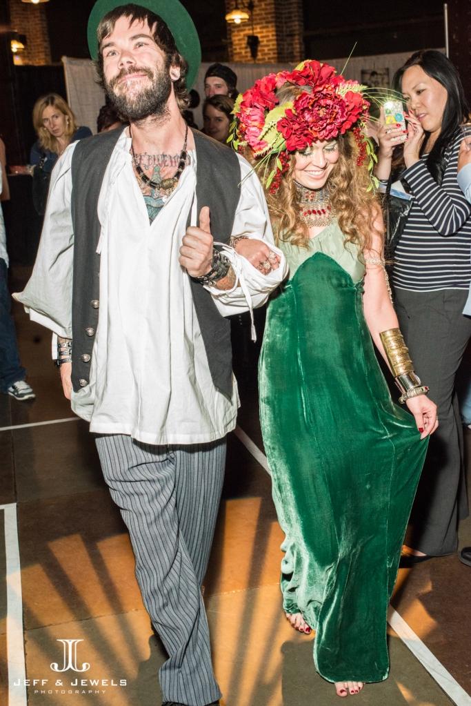 bohemian wedding attire denver bridal show