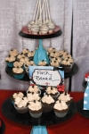 rockabilly wedding vignette desserts denver bridal show